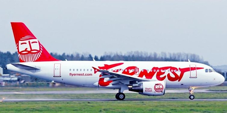 самолет Ernest Airlines